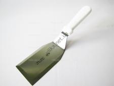 Лопатка металлическая с белой ручкой 16232 - 30 см.
