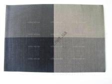 Салфетка под тарелки Клетка чёрно-белая 45 х 30 см.