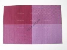 Салфетка под тарелки Клетка фиолетовая 45 х 30 см.