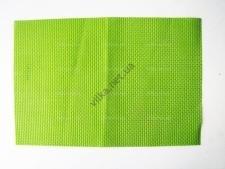 Салфетка под тарелки светло-зелёная 45 х 30 см.