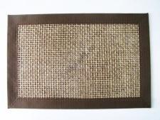 Салфетка под тарелки Сетка коричневая 45 х 30 см.
