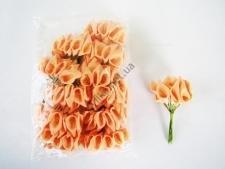 Калла искусственная коралловая 11 см. ( 144 шт. в упаковке )