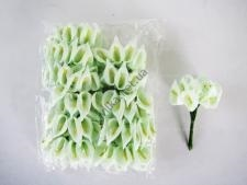 Калла искусственная салатовая 11 см. ( 144 шт. в упаковке )