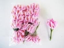 Калла искусственная розовая 11 см. ( 144 шт. в упаковке )