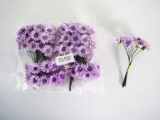 Хризантема искусственная фиолетовая 9 см. ( 144 шт. в упаковке)