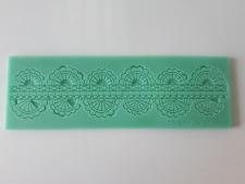Коврик кондитерский для айсинга Оборка 16,5 cm х 5 cm