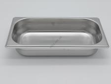 Гастроёмкость нержавеющая 1/3 х 65 18/8  0,7 мм (32,5 х 18 х 5 см.)