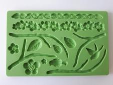 Молд кондитерский силиконовый  Веточки 13 х 20 см