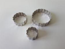 Форма кондитерская металл из 3-х Гвоздика