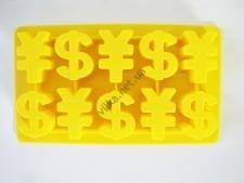 Форма силиконовая  доллар 12 х 21 см.