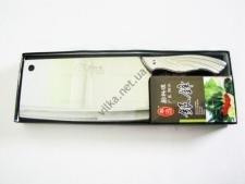 Нож секач металлический 9 см х 30 см толщ. 1,6
