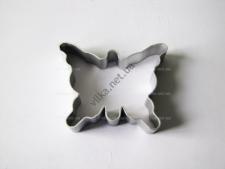 Форма металлическая   8 х 10 х 1,7 см.  Бабочка