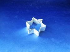 Форма металлическая 6,5 х 6,5 х 2,3 см Звезда