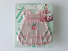 Плунжер пластмассовый прозрачный Платье