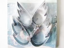 Форма кондитерская металл из-4х  Крылья 16978