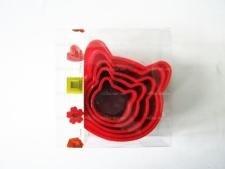 Форма пластмассовая 10 х 3,5 см. из 5-ти Мордочка