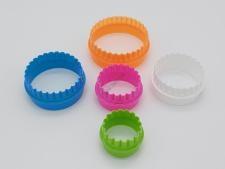 Форма пластмассовая 10 х 3,2 см. из 6-ти Кольцо