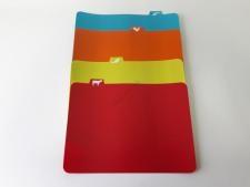 Доска разделочная пластиковая гибкая в наборе из 4-х 27,5*37,5 cm.
