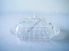 Маслёнка стекло EMIN-6874 - 18 х 11 х 8 cm