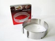 Кольцо разъёмное (24-30 см) для нарезки бисквитов