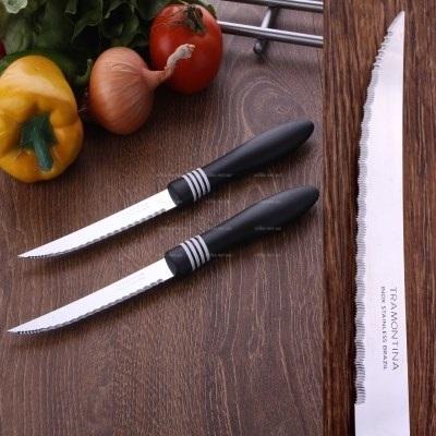 Нож Тramоntina овощной лазерный арт. 23466/205