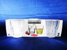 Набор стаканов для виски  Касабланка  3 х 355 гр.