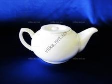 Чайник керамический белый 700 мл.