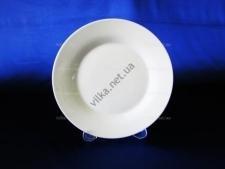 Тарелка керамическая белая 9 - 24 см.  ( 2 СОРТ, БЕЗ ОБМЕНА )