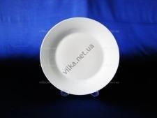 Тарелка керамическая белая 10,5 - 27 см. (12 шт. в уп,)