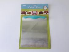 Подставка нержавеющая для торта прямоугольная 20 х 20,5 см.