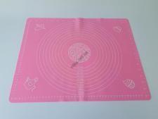 Салфетка силиконовая кондитерская с разметками 40 х 50 см.