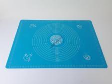 Салфетка силиконовая кондитерская с разметками 45 х 64 см.