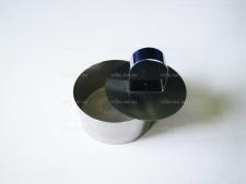 Форма нержавеющая для гарнира с выталкивателем д. 8 см. выс. 4 см.