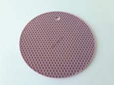 Подставка силиконовая под горячее Круг  17 см.