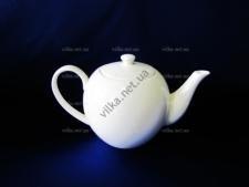 Чайник керамический белый 750 мл.
