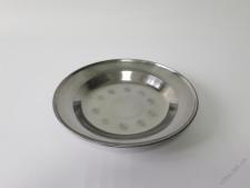 Тарелка мелкая нержавеющая 20 см.