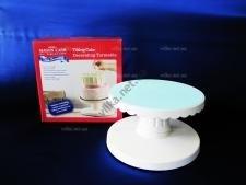 Стойка для торта пластмассовая с наклоном д. 23 см.  h-13.5 cм.