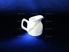 Молочник-кувшин керамический белый выс. 6 см. д. 5 см.