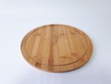 Доска деревянная для пиццы д. 32 см.