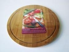 Доска деревянная для пиццы д. 34 см.