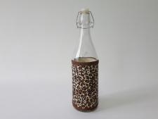 Ёмкость стеклянная  для масла 1 л.  с пробкой