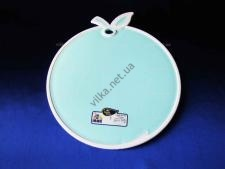 Доска пластмас. цветная Яблоко  DS-720 (24шт)