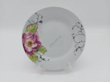 Тарелка круглая  Роза чайная для 2-го №7 - 18 см. (12 шт. в уп.)
