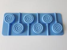 Форма силиконовая на планшете из 6-ти для леденцов Ассорти 14*9 cm.