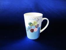 Чашка керамическая 9,3 х 12,6 см. (6 шт. уп.) 18189