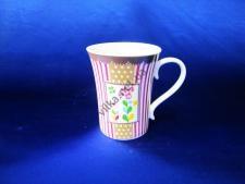Чашка керамическая 9 х 11,5 см. (12 шт. в уп.)