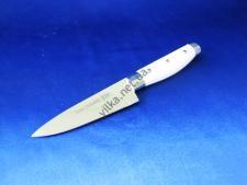 Нож с белой ручкой 5