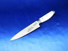 Нож с белой ручкой 6