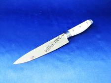 Нож с белой ручкой 7