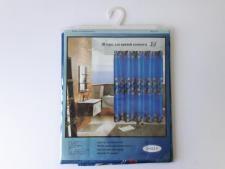 Штора в ванную атласная № 819 - 180 x 180 см.